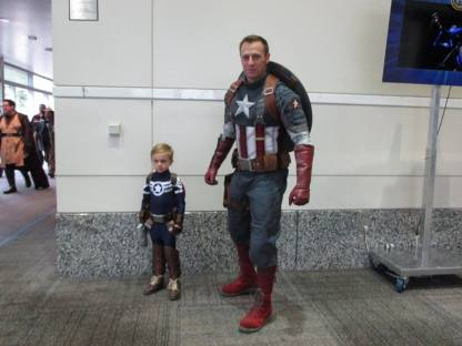 Wizard World Captain America Cosplay