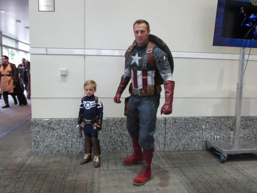 Wizard World Captain America Cosplay